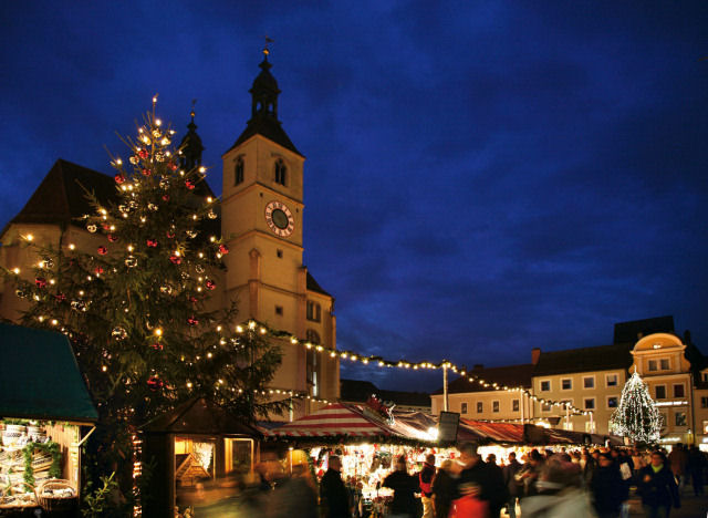 Gloria Weihnachtsmarkt Regensburg